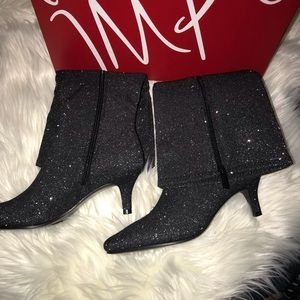 Impo pewter boots.  Gorgeous!!!